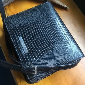 Nine West Black Snake Purse